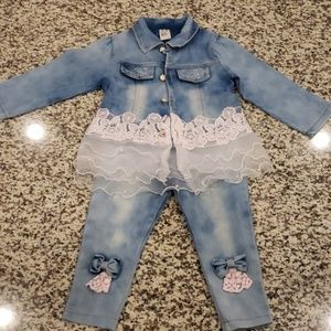 Other - Matching pants, shirt and jacket set